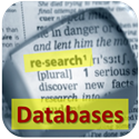 button for online research database