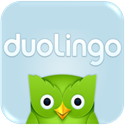 button for duolingo