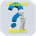password recovery button