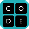 button for hour of code website