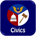 button for civics online textbook