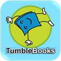 button for tumble books resources
