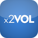 icon for x2VOL website